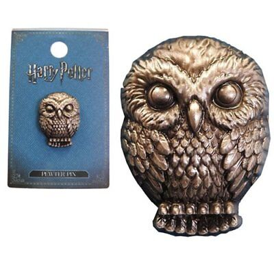 Harry Potter NEW * Hedwig Owl * Pewter Lapel Pin Accessory Charm Pin - Harry Potter Owl Hedwig