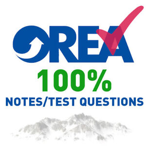OREA PHASE 4 (NOTES/TEST QUESTIONS) GUARANTEED PASS