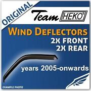 Suzuki Swift Wind Deflectors