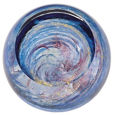 Glass Eye Studio celestial series paperweight Milky Way 502F - Brand New (Studio Dekoration)