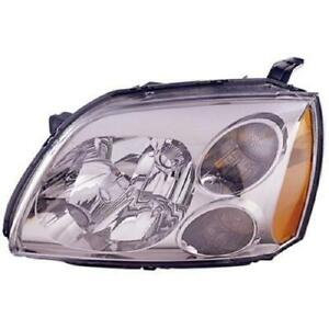 2004-2008 Mitsubishi Galant Headlight Driver Side High Quality