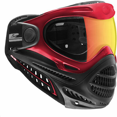 Dye Axis Pro Mask / Goggle - Red Bronze Fire - Paintball