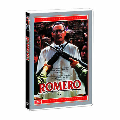 Romero (1989) Raul Julia, Richard Jordan DVD *NEW
