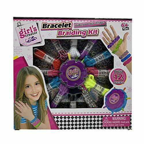 Barcelet Making Kit for Girls DIY Charm Jewelry Making Kit,Jewelry Arts and