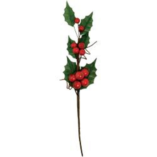 "Kaisercraft Twig & Berry Floral Stem-9""-3D Christmas EM994 Decor Wreath Berries"