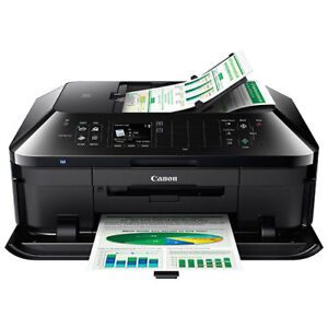 Canon Inkjet wireless printers, new demo model, comes with inks