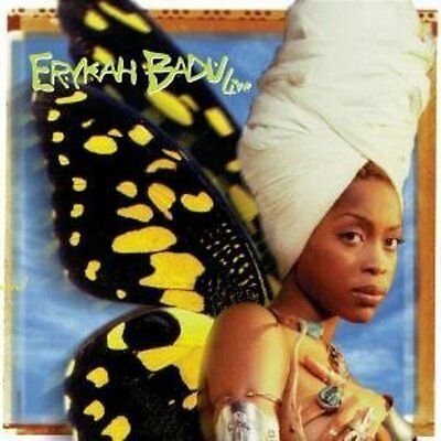 Erykah Badu   Live  New Cd