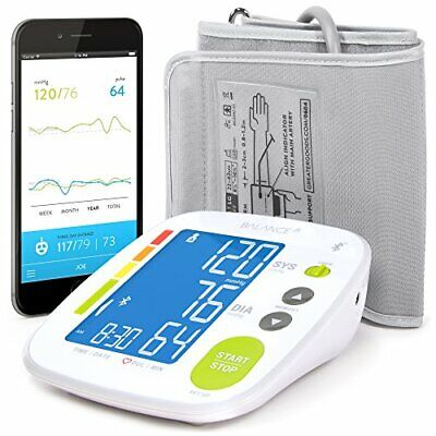 Greater Goods Bluetooth Blood Pressure Monitor Cuff, Smartph