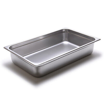 Steam Table Pan - 24 Gauge Stainless Steel Full-size 4h