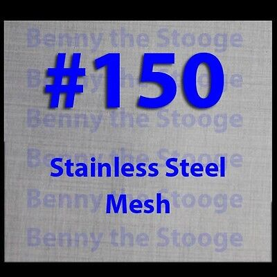 24x24 150 Mesh 100 Micron Woven Wire Mesh Stainless Steel Filtration Grade