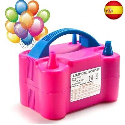 MTKD Inflador Eléctrico de Globos, Bomba electrica para Inflar Globos. Ideal