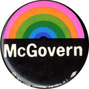 George McGovern Button