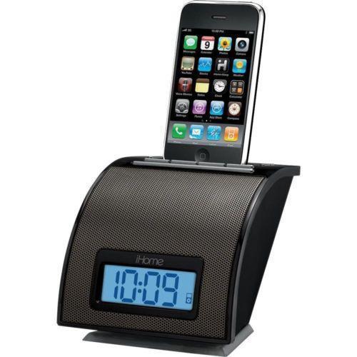 ihome alarm clock audio docks mini speakers ebay. Black Bedroom Furniture Sets. Home Design Ideas