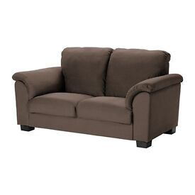 IKEA TIDAFORS 2 seater sofa Hensta dark brown