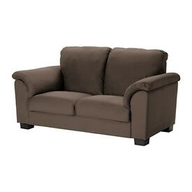 IKEA TIDAFORS 2 seater sofa Hensta dark brown