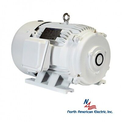 30 Hp Electric Motor For Rotary Phase Converter 286t Tefc 208-230460 No Shaft