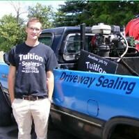 Driveway Sealing- Tuition Sealers, support your local students