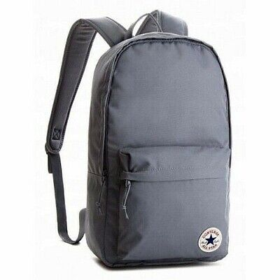 Converse Backpack CHUCK TAYLOR ALL STAR Core School Laptop Travel Gym Bag Gray