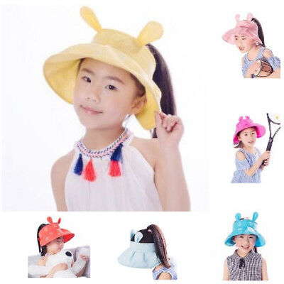 CHEAP LIGHT BLUE Baby Beach Bucket Sun Hats For Kids Foldable Travel](Bucket Hats For Kids)