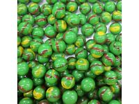 VACOR MARBLES FREE SHIPPING 2 POUNDS 7//8 INCH ARTIC MEGA