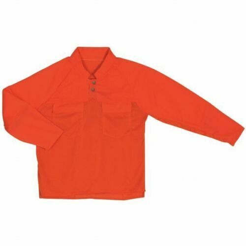 NEW! SWEDEPRO 170042 Chainsaw Shirt, Hi Visibility Org, PET, XL