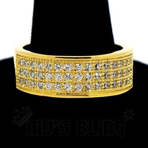 Womens Gold Pinky Ring