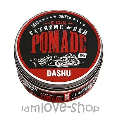 [DASHU] Classic Extreme Red Pomade 100ml water based, Hair Wax