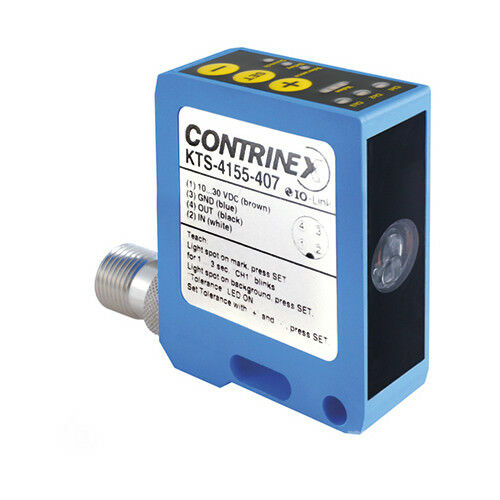Contrinex KTS-4155-407 Color And Contrast Sensor MFGD