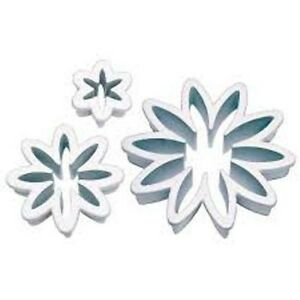DAISY FLOWER CUTTERS X 3 CAKE DECORATING ICING SUGAR CRAFT CUPCAKE PARTY