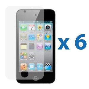 6X-CLEAR-LCD-Screen-Protector-Cover-Shield-for-Apple-iPod-Touch-4-4g-4th-Gen