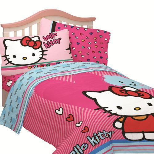 hello kitty twin comforter ebay