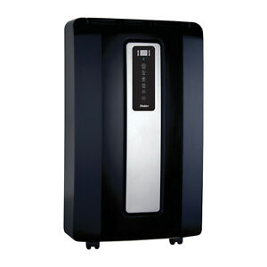 Haier 14,000 BTU Portable Air Conditioner (HPF14XCM-B) - Black/S