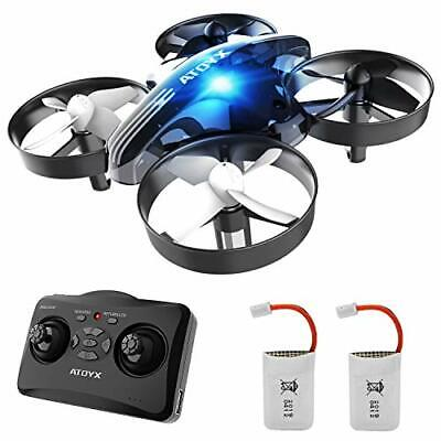 Mini Portable Drone for Kids and Beginners,Remote Control Drone Toys, (Black)