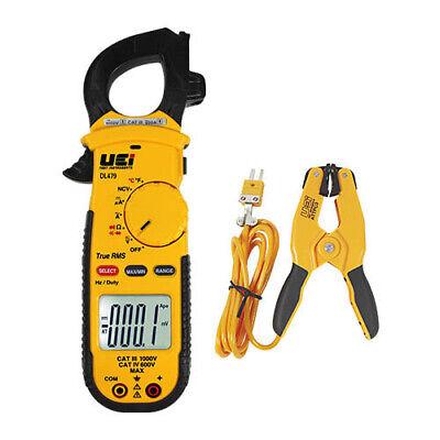 Uei Dl479combo Trms Hvacr Clamp Meter Combo Kit Ac 600a Wattpc3