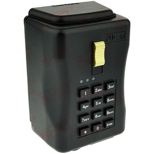 Electronic Key Storage Lock Box - Wall-Mount Combination Lockbox with Downloadab