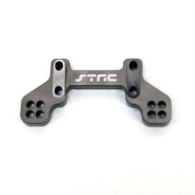 - STRC # STA80097RGM  Gunmetal Aluminum Rear Camber Link Mount for Axial Exo Terra