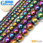 Hematite Seed Round Loose Stone Beads
