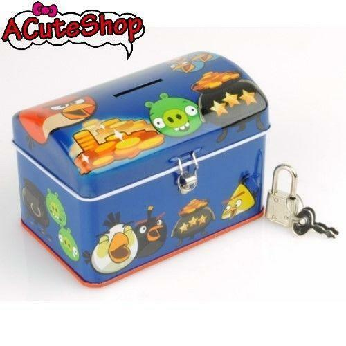 Piggy bank with lock ebay for Large piggy bank with lock