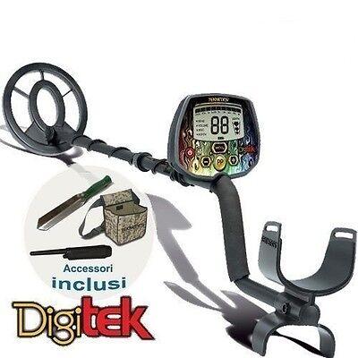 Metal Detector Teknetics DigiTek con Accessori Inclusi - Per Ragazzi e Bambini