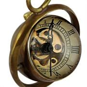Mens Gold Pocket Watch