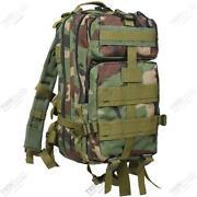 Woodland Camo Backpack