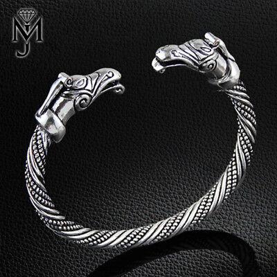 Viking Armband Drache Armreif Wikinger Armspange Folkloreschmuck für Herren