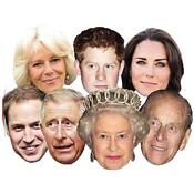 Royal Family Celebrity Masks
