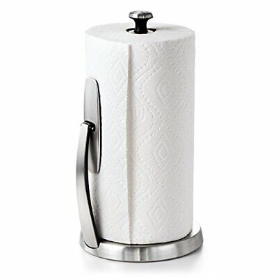 Brushed Stainless Steel OXO Good Grips SimplyTear Standing P