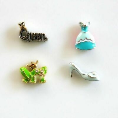 Fairy Queen Dress (Origami Owl Fairy Tale Charm Lot Princess Dress Frog Prince Queen Slipper)