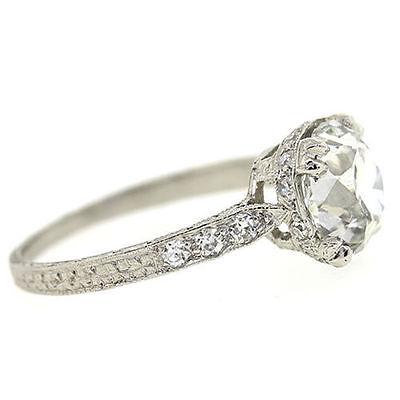 Antique Platinum Ring eBay
