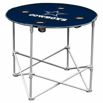 DALLAS COWBOYS NFL 30 INCH ROUND TAILGATE TABLE Dallas Cowboys Tailgate Table