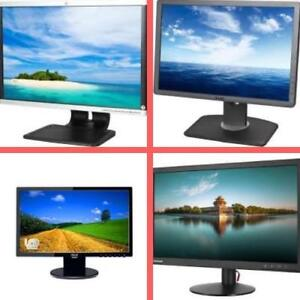 "Weekly Promotion ! 19"",22"",23"" 24"" Acer, NEC, Lenovo, Dell, Viewsonic, Asus, HP Monitor, GRADE A REFURBISHED"