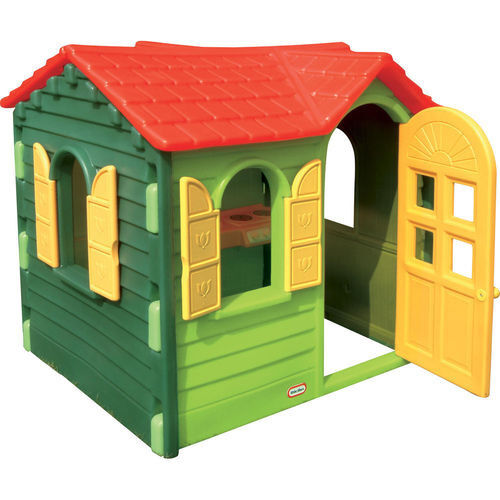 little tikes evergreen cottage, playhouse, CAN DELIVERin Bradley Stoke, BristolGumtree - Little tikes evergreen country cottage playhouse. Opening and closing window shutters, full size door, there is a little cooker/hob & sink unit inside and a little corner shelf, and phone. All excellent condition but the sun has faded the roof but...