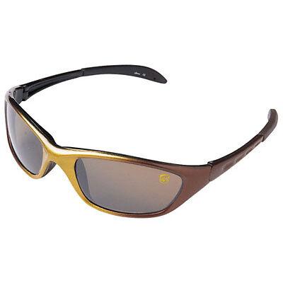 UNITED PARCEL SERVICE UPS BROWN GOLD FRAME SUNGLASSES CUSTOM WRAP-STYLE (Parcel Sunglasses)